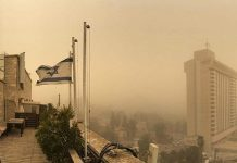 Jerusalem pollution #tapourim